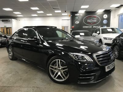 Mercedes-Benz S Class Saloon 3.0 S350L d AMG Line (Executive, Premium Plus) G-Tronic+ (s/s) 4dr