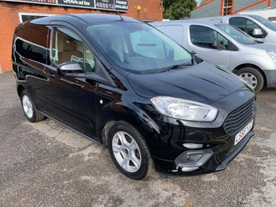 Ford Transit Courier Panel Van 1.5 TDCi L1 Limited FWD 4dr