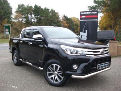 Toyota Hilux Pickup 2.4 D-4D Invincible Double Cab Pickup Auto 4WD EU6 4dr (TSS, 3.5t)