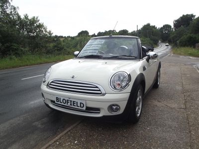 MINI Convertible Convertible 1.6 Cooper (Pepper) 2dr