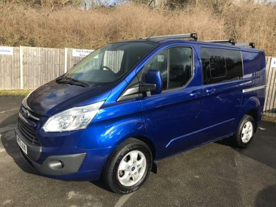 Ford Transit Custom Other 2.0 TDCi 290 Limited Double Cab-in-Van L1 H1 6dr (EU6)