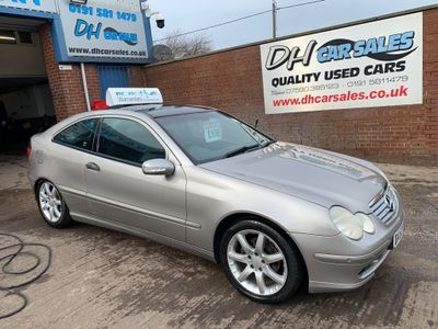 Mercedes-Benz C Class Coupe 1.8 C200 Kompressor SE 2dr