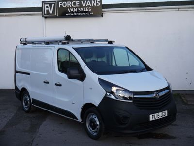 Vauxhall Vivaro Panel Van ECO FLEX L1H1 TWIN SIDE DOOR FACE LIFT