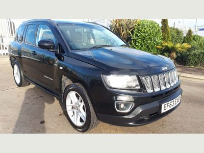 Jeep Compass SUV 2.4 VVT Limited P-Tech 4x4 5dr