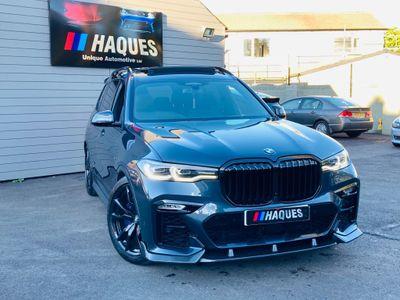 BMW X7 SUV 3.0 30d M Sport Auto xDrive (s/s) 5dr