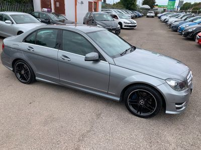 Mercedes-Benz C Class Saloon 2.1 C250 CDI BlueEFFICIENCY AMG Sport 7G-Tronic Plus 4dr