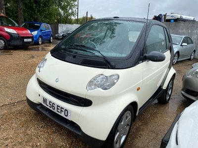 Smart fortwo Convertible 0.7 City Pure Cabriolet 2dr