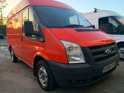 FORD TRANSIT Panel Van 2.2 TDCi 300 S Medium Roof Van Duratorq 3dr (SWB)