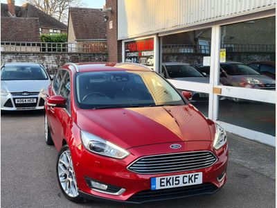 Ford Focus Estate 1.5T EcoBoost Titanium X (s/s) 5dr