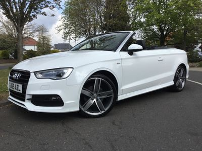 Audi A3 Cabriolet Convertible 1.4 TFSI CoD S line S Tronic 2dr