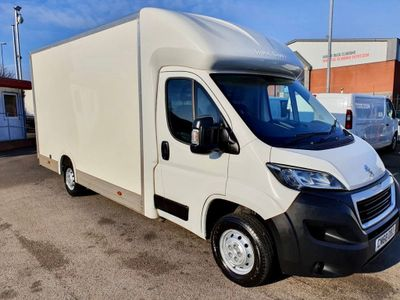Peugeot Boxer Luton Luton Low-Loader 130ps Eu6
