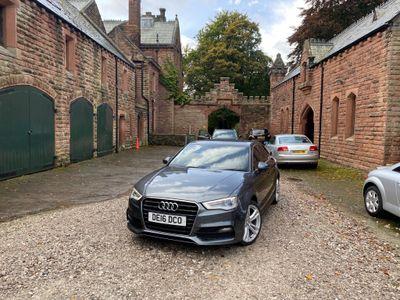 Audi A3 Saloon 1.4 TFSI CoD S line S Tronic (s/s) 4dr (Nav)