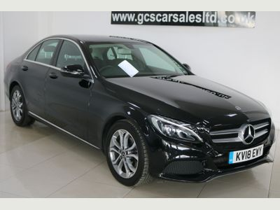 Mercedes-Benz C Class Saloon 1.6 C200d Sport G-Tronic+ (s/s) 4dr