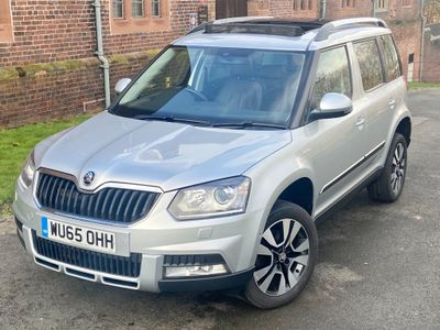 SKODA Yeti SUV 2.0 TDI Laurin & Klement Outdoor 4WD (s/s) 5dr