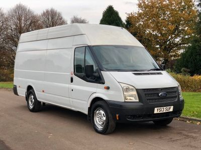 Ford Transit Panel Van 2.2 TDCi 350 LWB Trend SRW High Roof Jumbo 4dr