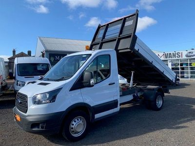 Ford Transit Chassis Cab 2.0 TDCi 350 L2 1-Way Tipper FWD 2dr (SRW)