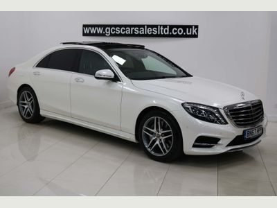 Mercedes-Benz S Class Saloon 3.0 S350d AMG Line (Executive Premium) LWB Saloon 9G-Tronic Plus 4dr