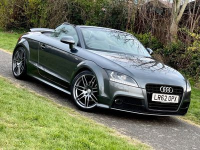 Audi TT Convertible 2.0 TFSI Black Edition Roadster S Tronic 2dr