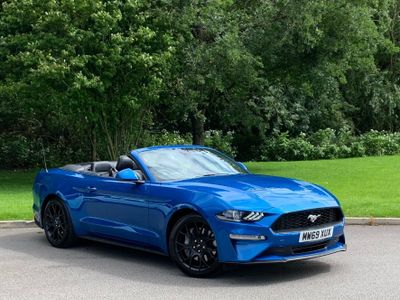 Ford Mustang Convertible 2.3T EcoBoost SelShift 2dr