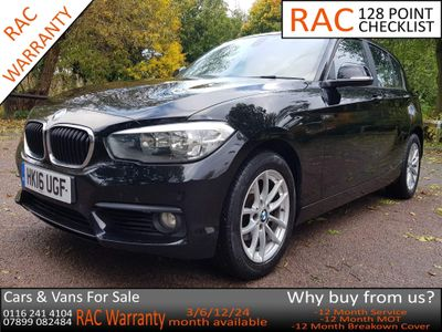 BMW 1 Series Hatchback 2.0 118d SE (s/s) 5dr