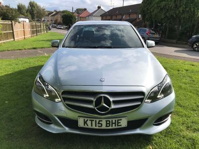 MERCEDES-BENZ E CLASS Saloon 2.1 E220 CDI BlueTEC SE 7G-Tronic Plus 4dr