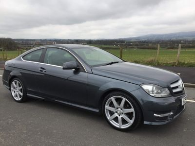 Mercedes-Benz C Class Coupe 2.1 C220 CDI AMG Sport Sport Coupe 2dr