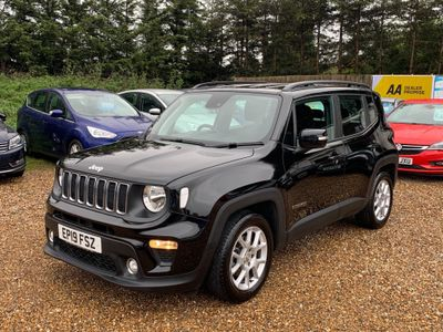 Jeep Renegade SUV 1.3 GSE T4 Longitude DDCT (s/s) 5dr