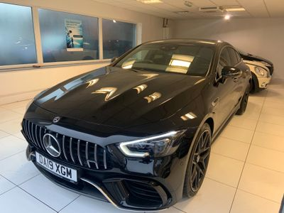 Mercedes-Benz AMG GT Coupe 4.0 63 V8 BiTurbo SpdS MCT 4MATIC+ (s/s) 4dr