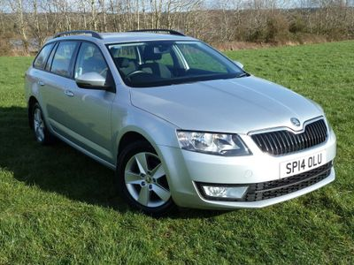 SKODA Octavia Estate 1.6 TDI CR SE 4x4 5dr