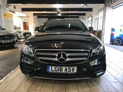 Mercedes-Benz E Class Saloon 2.0 E220d AMG Line (Premium) G-Tronic+ (s/s) 4dr