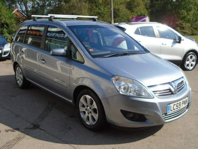 Vauxhall Zafira MPV 1.8 16V Breeze Plus 5dr