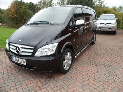Mercedes-Benz Vito Panel Van 2.1 116CDI Compact Panel Van 5dr (EU5)