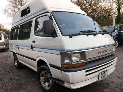 Toyota HIACE Campervan HIGH TOP 4 BERTH FACTORY CONVERSION 4WD