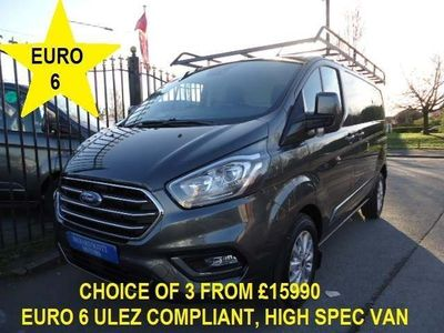 Ford Transit Custom Panel Van 2.0 300 EcoBlue Limited L1 H1 EU6 5dr