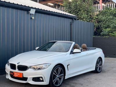 BMW 4 Series Convertible 2.0 425d M Sport 2dr