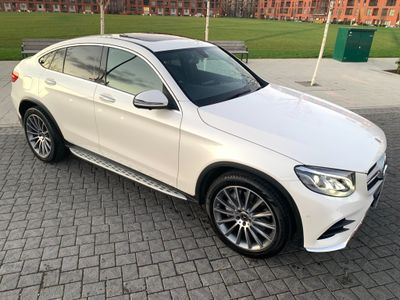 Mercedes-Benz GLC Class Coupe 2.0 GLC250 AMG Line (Premium) G-Tronic+ 4MATIC (s/s) 5dr