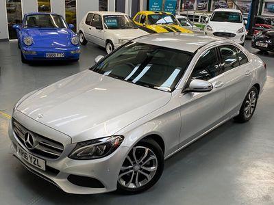 Mercedes-Benz C Class Saloon 1.6 C200d Sport (s/s) 4dr