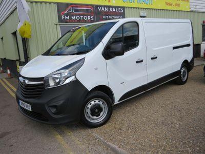 Vauxhall Vivaro Panel Van l2DIESSEL 2900 1.6 CDTI 115PS H1 VAN