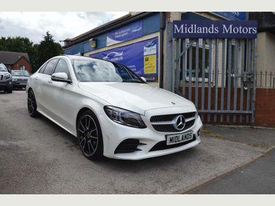 Mercedes-Benz C Class Saloon 2.0 C220d AMG Line Night Edition (Premium Plus) G-Tronic+ (s/s) 4dr