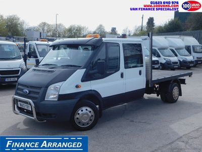 Ford Transit Dropside 2.2TDCI DOUBLECAB LOW LOW MILES F/S/H