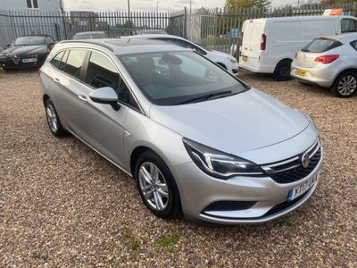 Vauxhall Astra Estate 1.6 CDTi ecoFLEX Tech Line Sports Tourer (s/s) 5dr