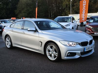 BMW 4 Series Gran Coupe Saloon 2.0 420d M Sport Gran Coupe xDrive (s/s) 5dr