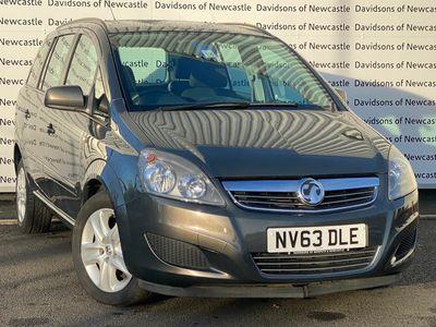 Vauxhall Zafira MPV 1.8 i VVT 16v Exclusiv 5dr