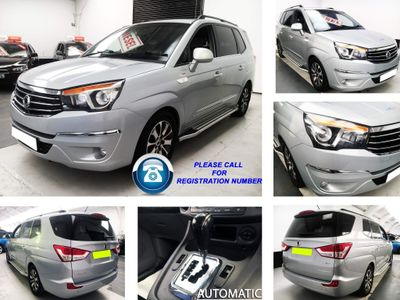 SsangYong Turismo MPV 2.2D ELX T-Tronic 4WD Selectable 5dr