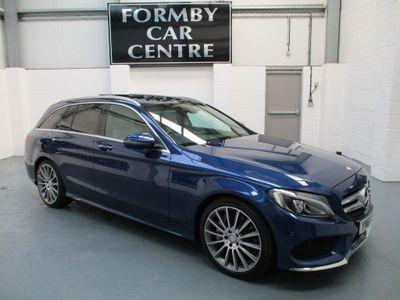 Mercedes-Benz C Class Estate 2.1 C300dh AMG Line (Premium Plus) G-Tronic+ (s/s) 5dr