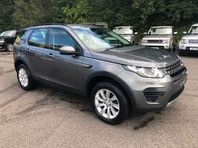 Land Rover Discovery Sport SUV 2.2 SD4 SE Auto 4WD (s/s) 5dr