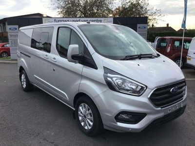 Ford Transit Custom Panel Van 300 L2 130PS LIMITED D/CAB IN VAN