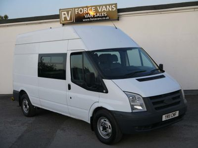 Ford Transit Panel Van WELFARE MESS CREW CAMPER MOTOX WORKSHOP