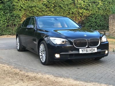 BMW 7 Series Saloon 3.0 740d Luxury 4dr