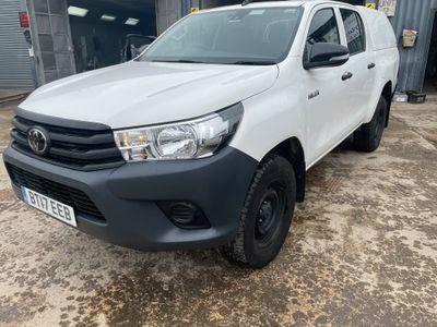 Toyota Hilux Pickup 2.4 D-4D Active Double Cab Pickup 4WD EU6 4dr (TSS, 3.5t)